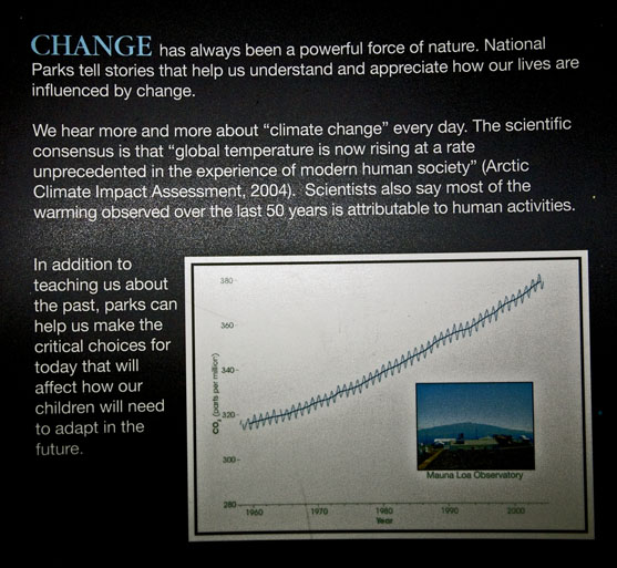 First Section of NPS/NASA Exhibit on Arrange for Change